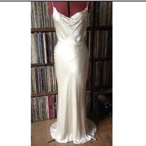 H&M silk maxi dress NWT